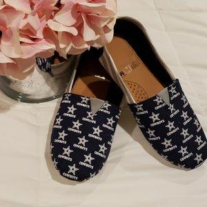 Dallas Cowboys canvas shoes